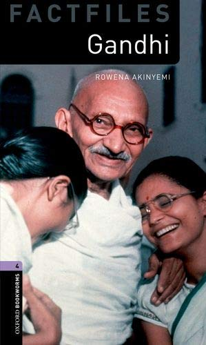 Oxford Bookworms Library Factfiles: Oxford Bookworms 4. Gandhi MP3 Pack