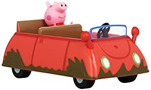 peppa pig muddy puddle car voiture de peppa figurine import royaume uni. Black Bedroom Furniture Sets. Home Design Ideas