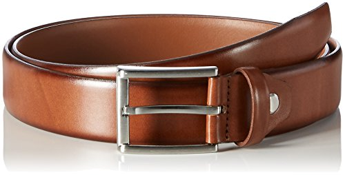 MLT Belts & Accessoires Herren Business-Gürtel London, Braun (light brown 6700), 85 cm
