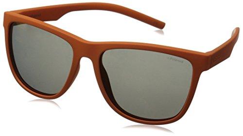 Polaroid Unisex-Erwachsene PLD 6014/S OZ H0A Sonnenbrille, Orange/Red Grey Speckled Pz, 56