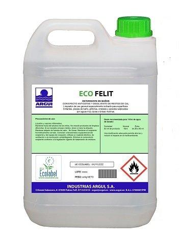 ECOLABEL ECOFELIT 5 litres de détergent...