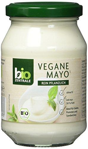 Bio-mayonnaise (biozentrale Mayo Vegan | 250ml Mayo & vegane Mayo | Ideal zu Pommes oder als veganer Brotaufstrich | Mayo ohne Ei)