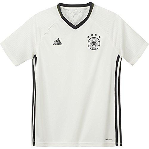 adidas Kinder T-shirt UEFA EURO 2016 DFB Trainingstrikot, weiß, 176, AC6550