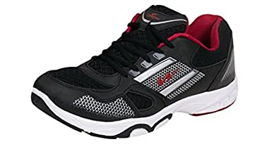 Campus REWISE Black Men Sports Shoes Size- 13 UK