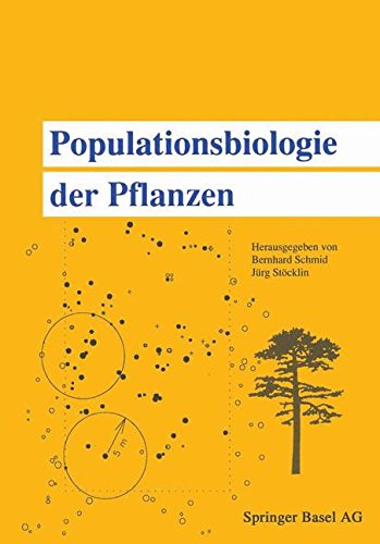Populationsbiologie der Pflanzen