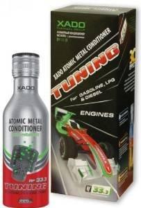 XADO Ottimizzazione dell'additivo per olio motore per la protezione e la protezione da usura - Additivo per olio motore per condizionatore di metallo atomico, 225 m