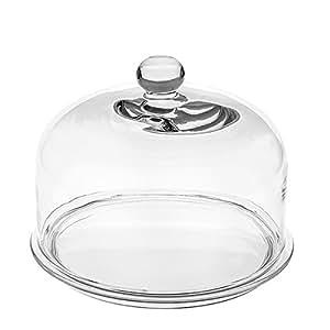 leonardo tortenplatte mit glashaube limito 2 tlg set glas 32 cm k che. Black Bedroom Furniture Sets. Home Design Ideas