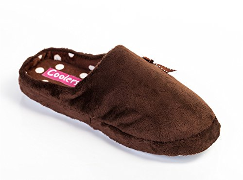 Coolers, Pantofole donna Brown