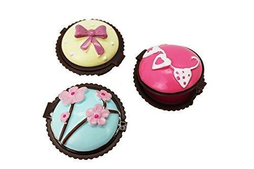 'lotto di 20burrocacao muffin–regali matrimonio/comunione–fatate di, lipgloss, burrocacao baratos matrimonio cupcake, a forma di gelato, dolcetti e muffin. regali per compleanno