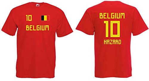 Belgien Hazard T-Shirt Trikot WM-2018 Look !!!NEU!!!