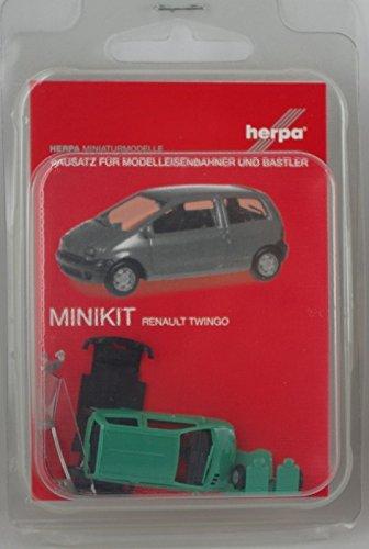 Preisvergleich Produktbild Herpa 012218-003 - MiKi Renault Twingo, grün