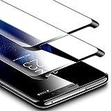 ESR Verre Trempé pour Samsung Galaxy S9 Plus 2018 (2 Pièces) (Noir), Film Protection Ecran 3X Plus Ultra Résistant, Indice Dureté 9H