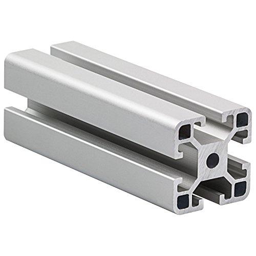 Aluminium Profil 4040 Nut 8 1000 mm oder Zuschnitt auf Maß Gratis