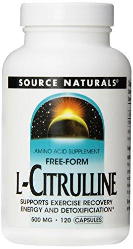 Source Naturals - L-Citrulline 500 mg - 120 Capsules