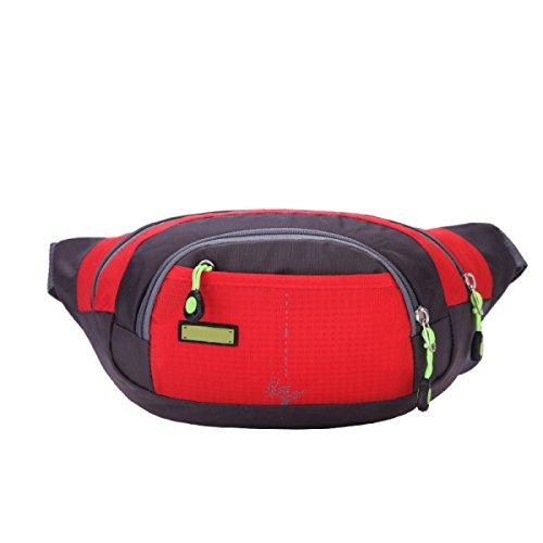 Outdoor Fitness Sporttaschen Mehrfarbige Multi-Size Red