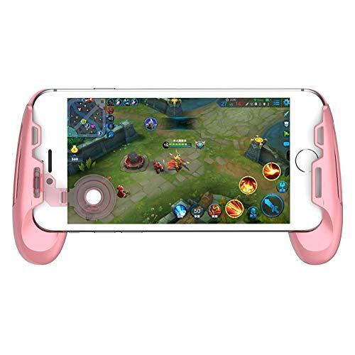 gamesir F1Controller Griff Halter, Teleskop Android iOS Gamepad MOBA (Game Controller Joystick Grip für iOS/Android Smartphone rosa Rose