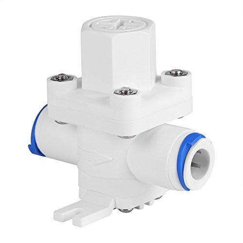 """Regolatore di pressione della pressione dell\'acqua 3/8\""""Protezione del filtro della valvola di riduzione Spinta per raccordi a connessione rapida per sistema di acqua ad osmosi inversa"""