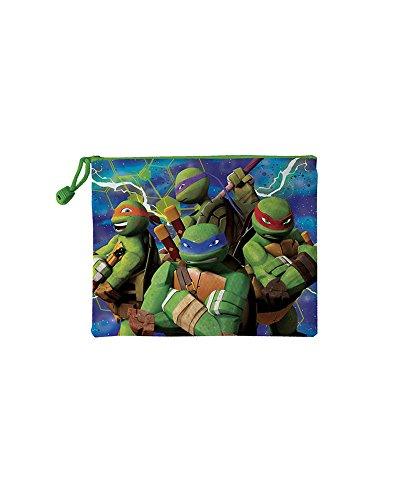 Disney Tortugas Ninja–Neceser de Media Impermeable, ast1297, 180x 235mm