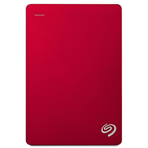 Seagate Backup Plus STDR5000203 5TB, Externe Festplatte (Backup-Software, USB 3.0, PC & MAC & PS4) rot