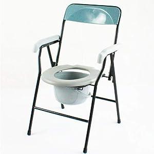 Faltbarer Toilettenstuhl | Ergonomischer Sitz und antirutschenden Gummispitzen | Timón Modell | Mobiclinic