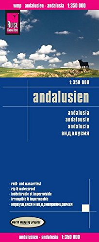 Preisvergleich Produktbild Reise Know-How Landkarte Andalusien (1:350.000): world mapping project