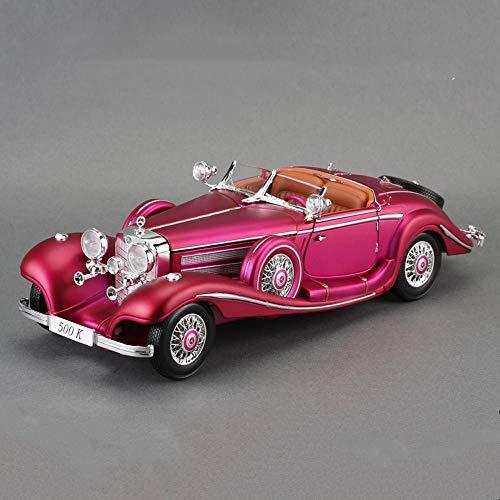 Penao 1936 Mercedes 500k Classic Auto Simulation Legierung Automodell, Auto Ornamente, Anteil 01:18