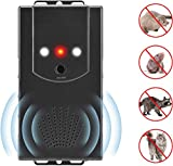 CrazyFire Car Ultrasonic Repellent, Rodent Marten Repellent with Ultrasonic Change Frequency and LED Flash Light Function, Three Methods of Power Supply for Home, Carport, Garden, Warehouse