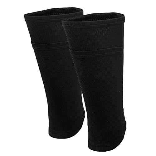 elschicht Atmungsaktiv Absorbieren Schweiß Shin Guard Socken Ärmel für Kinder Kinder Jungen Mädchen ()