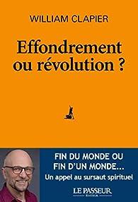 Effondrement ou révolution ? par Clapier