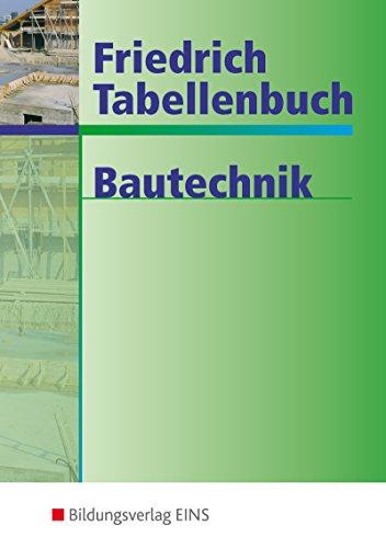 Free Friedrich Tabellenbuch Bautechnik Pdf Download Glaucusdro