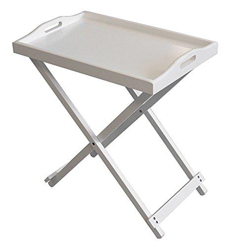 Tavolino Con Vassoio Asportabile.Stylehome Tavolino Con Vassoio Removibile Tavolo Da Servizio