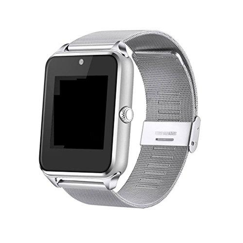 Reloj Inteligente Reloj de Pulsera Bluetooth de 1.5 Pulgadas con cámara Ranura para Tarjeta TF/SIM...