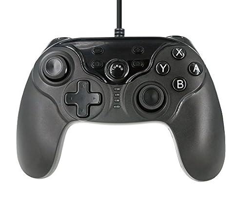 Mcbazel Manette de jeu filaire Gamepad pour Switch -Black