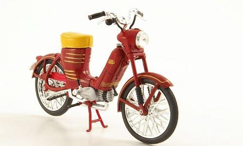 Jawa 50 Pionyr, dkl.-rot, 1955, Modellauto, Fertigmodell, Abrex 1:18