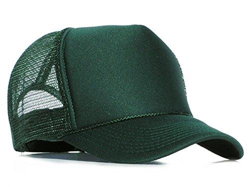 Bastart Caps Raphia type Mesh Casquette dark green