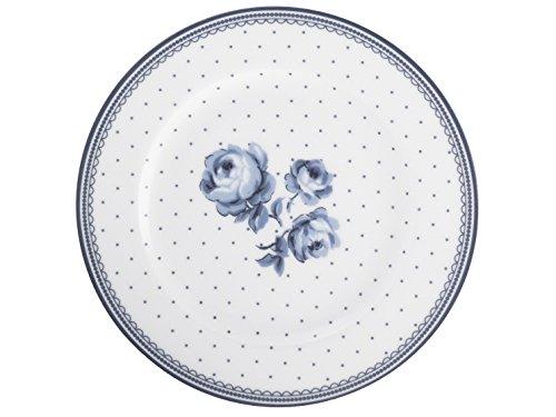 Katie Alice Vintage Teller mit Blumenmotiv, Indigo Blau (Katie Dot Polka)