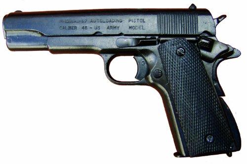 Denix Pistole Colt Government, 1911 Deko Nachbau Schusswaffe Metall