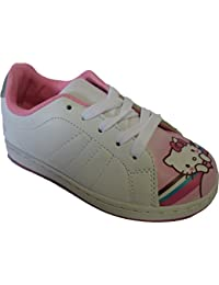 Baskets blanches Hello Kitty pour filles