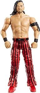 WWE - Figura de acción básica luchador Shinsuke Nakamura con accesorios de lucha Juguetes niños +6 años (Mattel GCB74)
