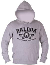 Dirty Ray Balboa Boxing Gym Sweat homme avec capuche B31