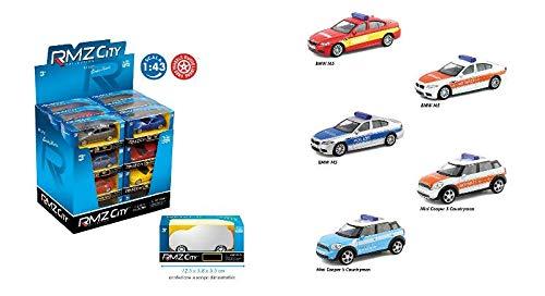 Dal Negro Automobili 8001097946716 - Escala 1:43 de Rueda Libre, Expositor de 24, Multicolor