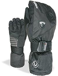 Level Handschuhe Fly Jr - Guantes de esquí, color negro, talla 6,5