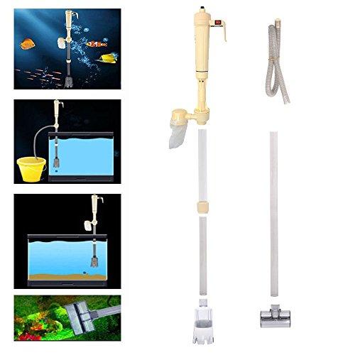 ebuybox® Elektrische Aquarium Wasserwechsel Set Aquariumreiniger Mulmsauger Kiesreiniger Bodenreinigung Reinigung Wasseraustauschgeraete fuer Aquarien - ohne Batterie