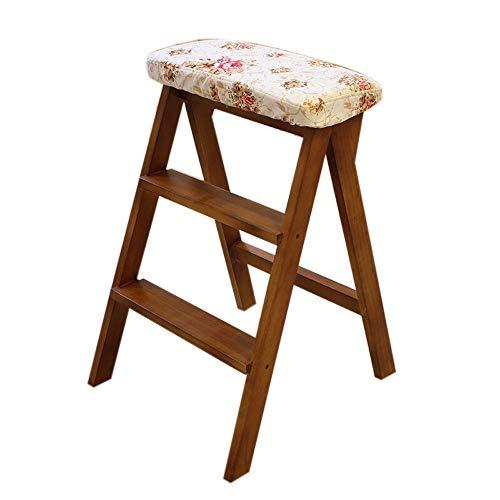FENPING-Barstühle Barhocker Massivholz Modernen Minimalistischen Stil Schritt Hocker Klapphocker Tragbarer Hocker Lange Bein Freizeit Stuhl Esszimmerstuhl Lounge Stuhl (Color : C)