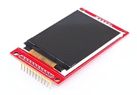Haoyishang 5,6cm Arduino Module écran LCD couleur TFT SPI module d'interface série, prise en charge Uno, R3Carte de développement