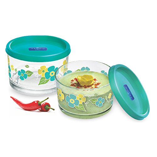 Cello 8901372710738 Viva 3 Design Color Glass Bowl 130ml