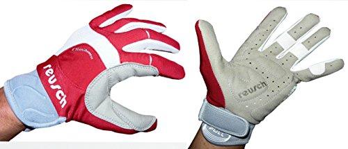 Reusch Handschuhe Nordic Walking Trail Gloves Fahrrad Sport Freizeit Unisex (7,0(S), Rot)