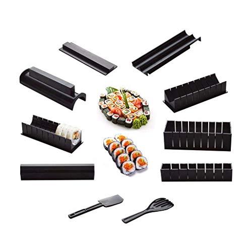 REFURBISHHOUSE10 Foto/Set DIY Sushi Maker Onigiri Stampo Rice Stampo Kit Cucina Bento Accessori Strumenti