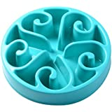 Splink Dog Bowl Slow Feed Interactive Fun Feeder Bloat Stop, Prevent Bloating, Anti Choking, Eco-friendly Durable Healthy Eating Pet Bowl with