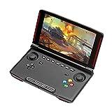 Video-Spielkonsole, breiter 5,5 Zoll IPS Quad Core 2 G + 16 G Android Handheld Game Player für PC Porting Spiele, Mobile Spiele, Arcade Spiele PSP